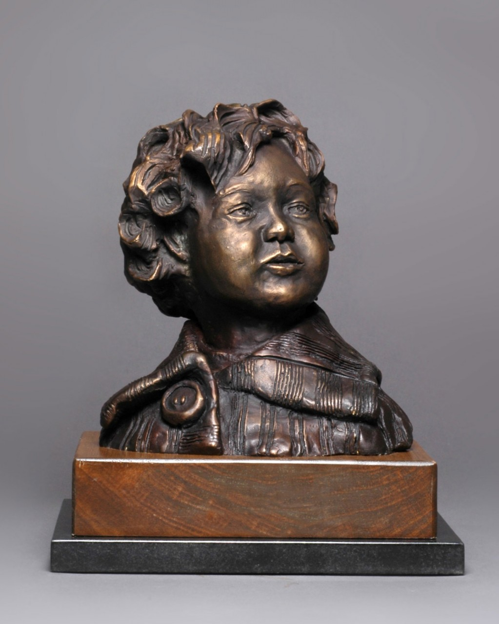 """Lilly"" Cast Bronze - 7 ½"" x 5¼"" x 8 """