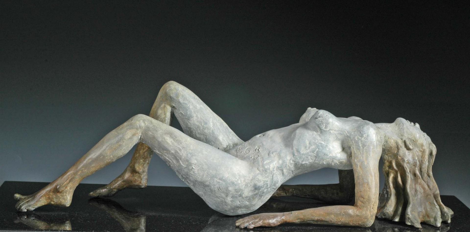 """""""Désirée""""  7.5 x 6 x 20.5  Cast Bronze"""