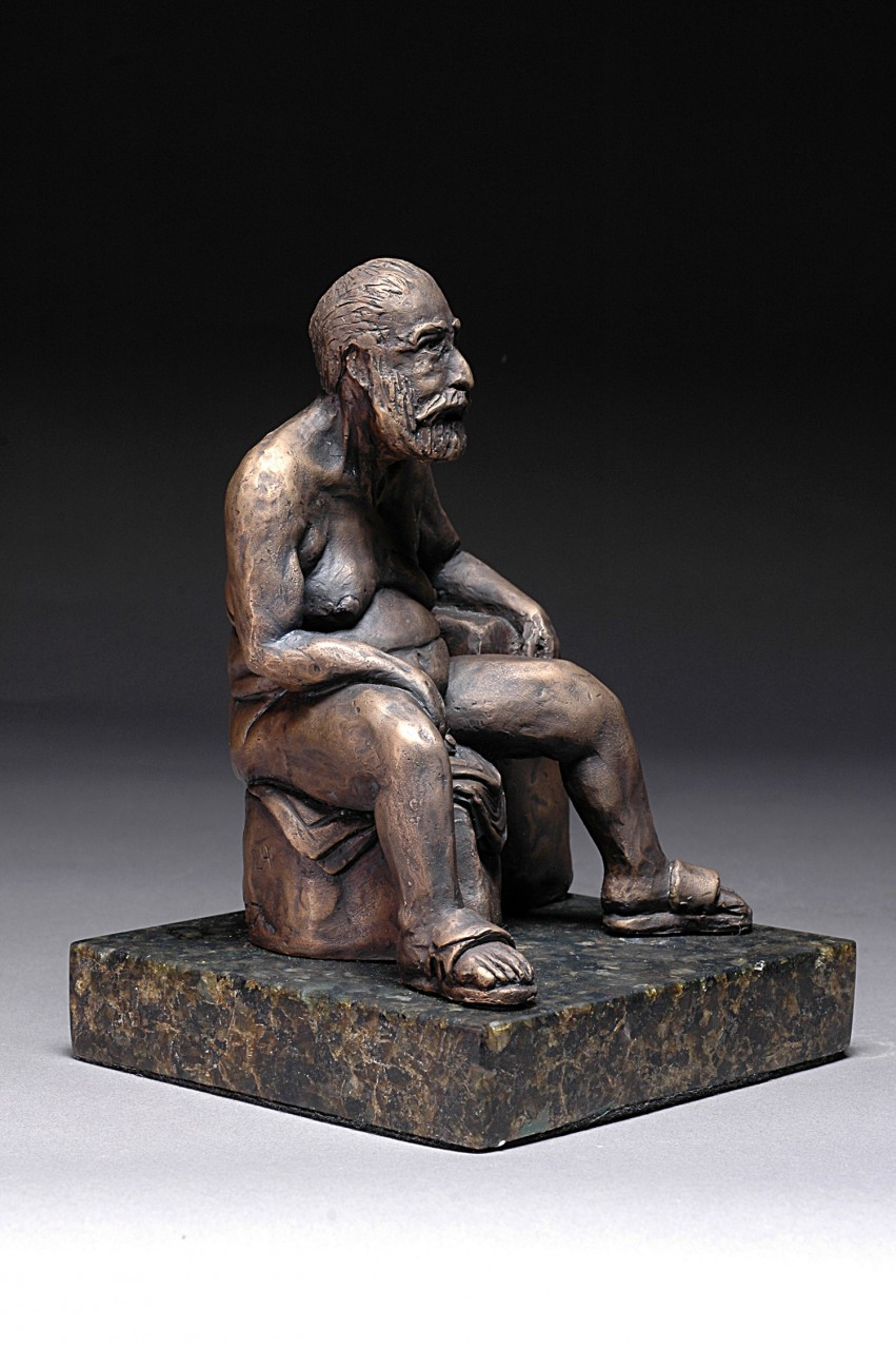 """""""Frankly Frank"""" Cast Bronze - 7.5""""x5.25""""x5.5"""""""