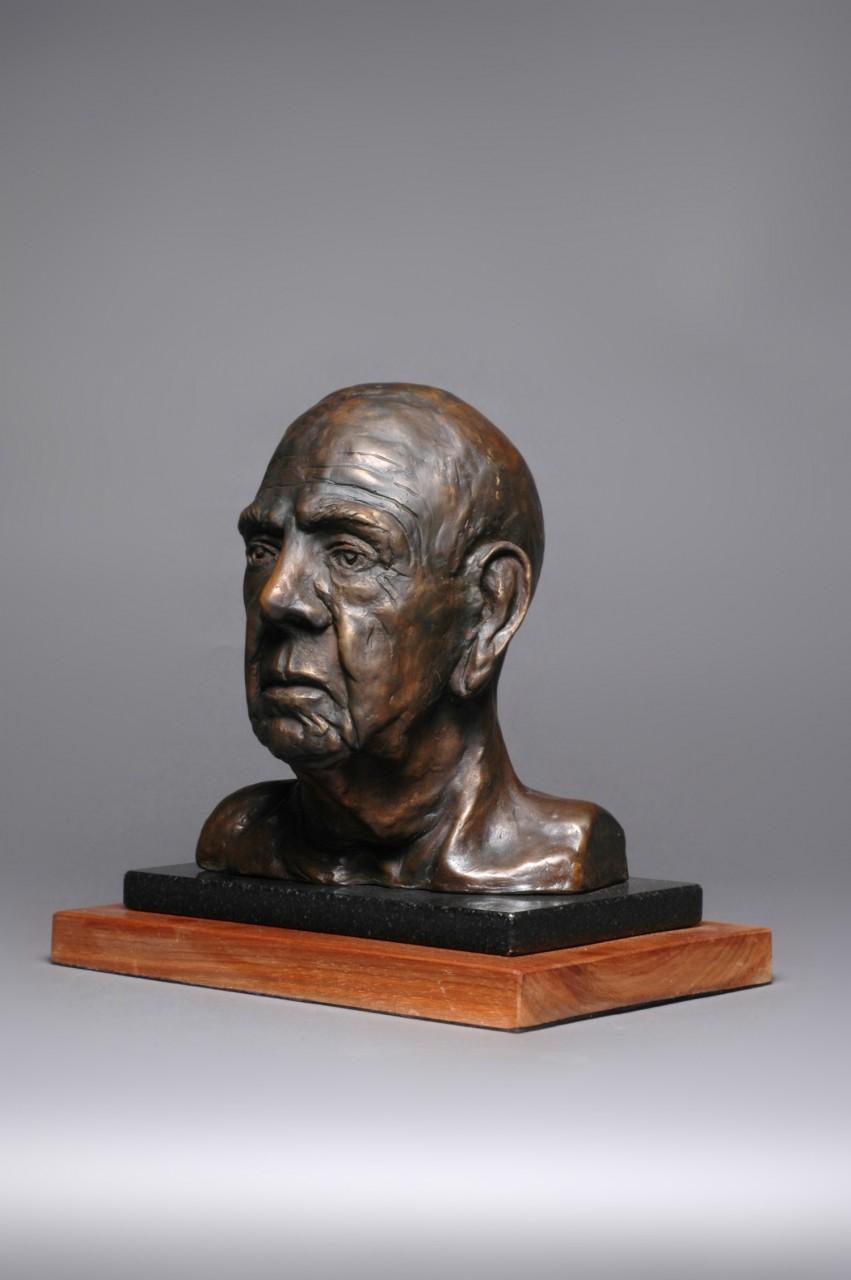 """El Viejo "" Cast Bronze - 8"" x 9½"" x 5"""