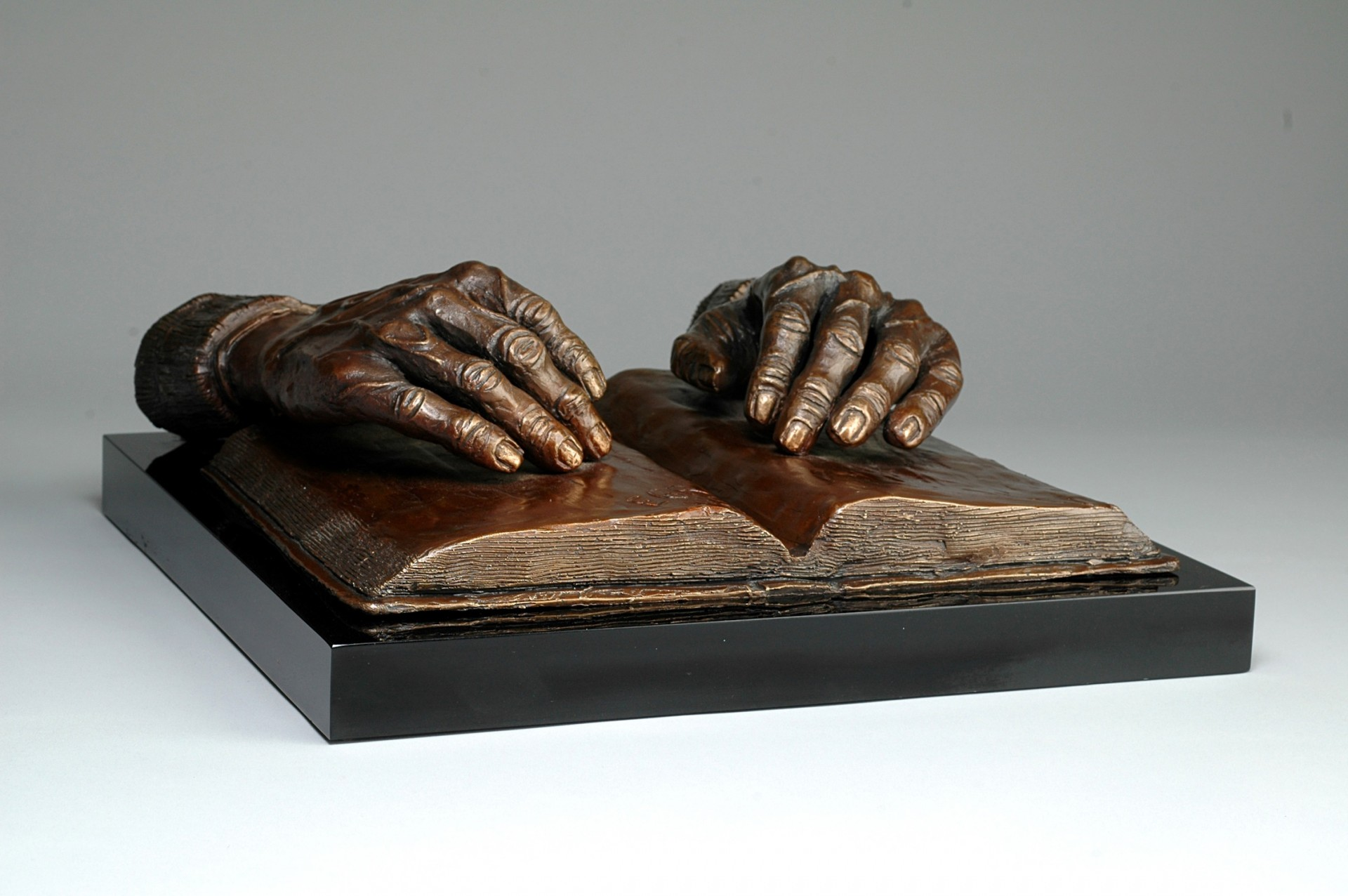 """Faith"" Chapel of Divine Providence Usaquén, Bogotá,D.E., Colombia, South America Cast Bronze - 5"" x 13¼"" x 13"""