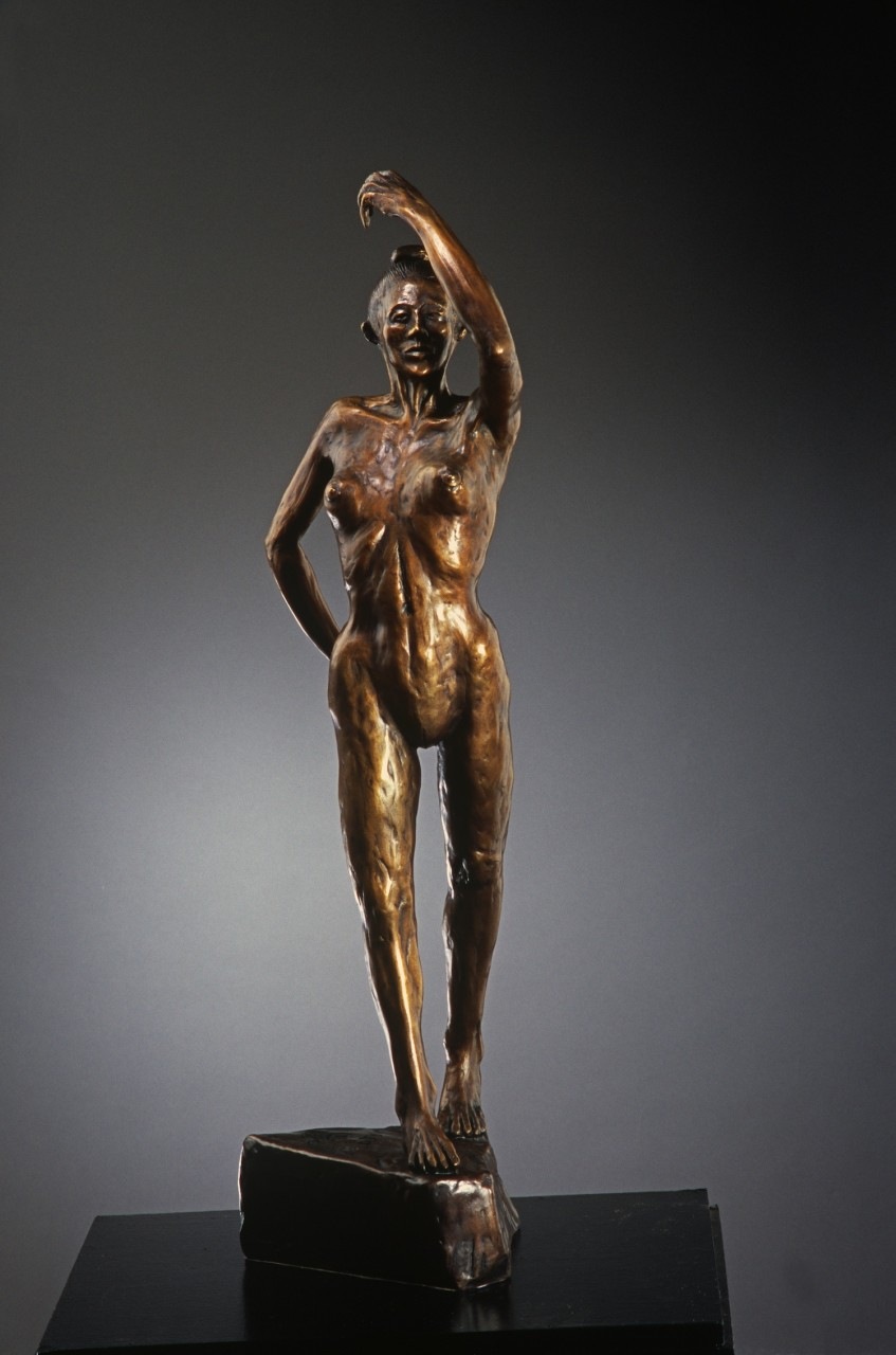 """Flamenco Dancer"" Cast Bronze - 6½"" x 7½"" x 25½"""