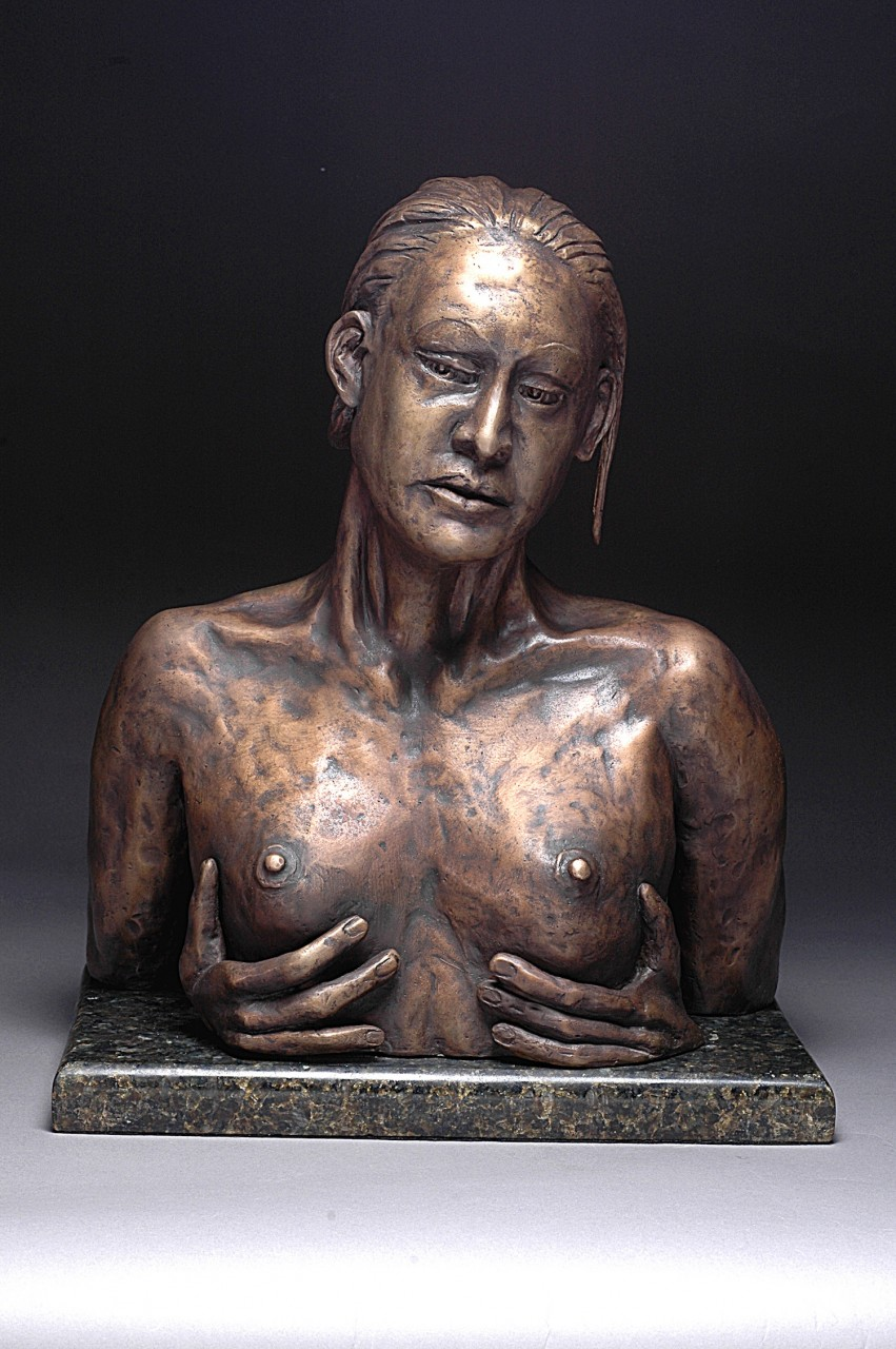 """Reflection"" Cast Bronze - 15.5""x13.25""x8.5"""