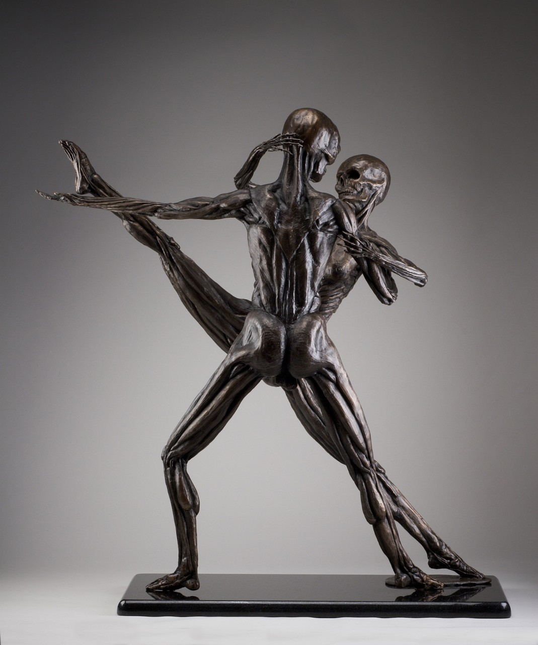 """Soul Dance"" Cast Bronze - 34"" x 12"" x 33"
