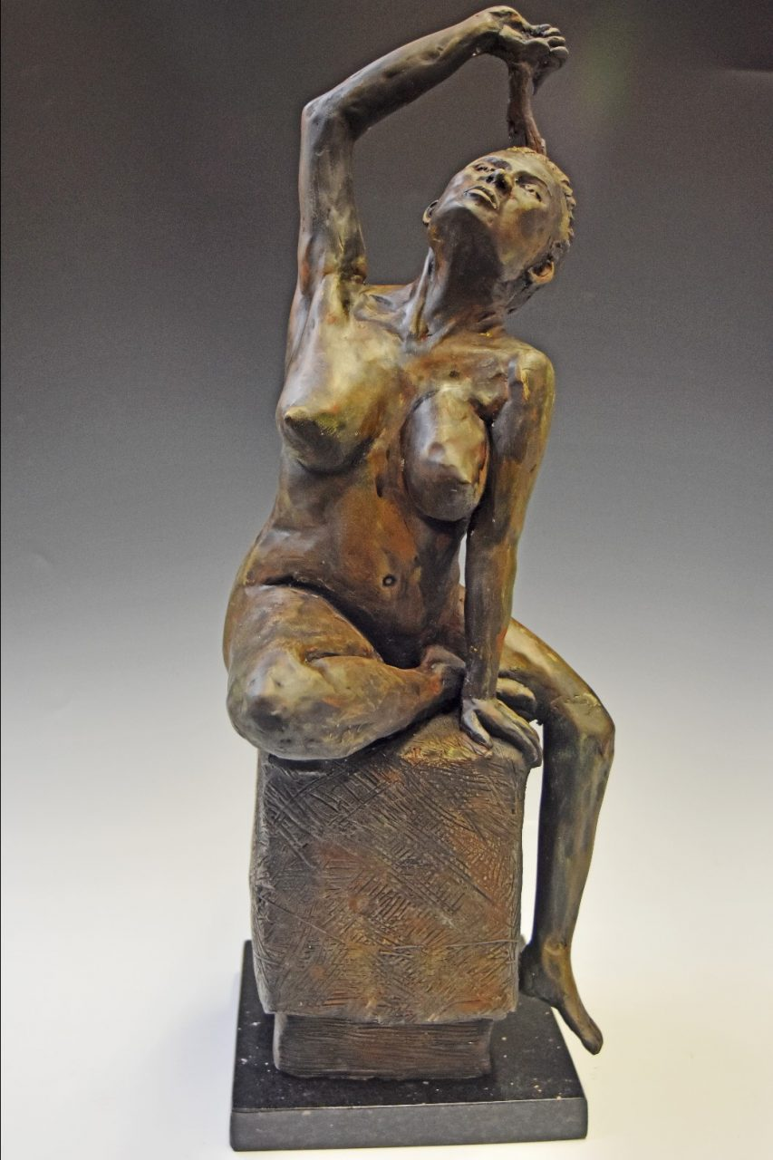"""Breakthrough"" Cast Bronze 16"" x 6"" x 6"""